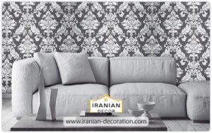 کاغذ دیواری دکوراتیو ایرانی